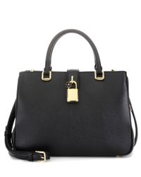 Dolce & Gabbana - Black Dolce Shopping Small Leather Cross-body Bag - Lyst