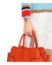 Bottega Veneta - Blue Knot Intrecciato Leather Bracelet - Lyst