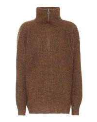 Étoile Isabel Marant - Brown Declan Oversized Sweater - Lyst