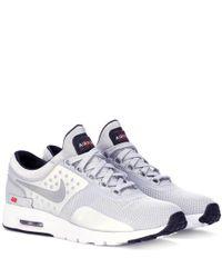 Nike - Gray Air Max Zero Qs Sneakers - Lyst