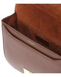 Saint Laurent - Brown Betty Leather Shoulder Bag - Lyst