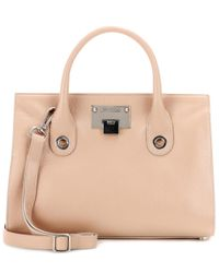 Jimmy Choo - Natural Riley Leather Tote - Lyst