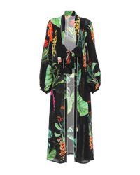 Johanna Ortiz - Black Exclusive To Mytheresa.com – Kiribati Silk Kimono Cardigan - Lyst