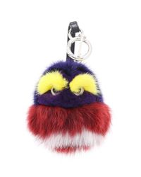 Fendi - Multicolor Fur Charm - Lyst