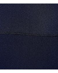 Stella McCartney Blue Anderson Cape-overlay Dress