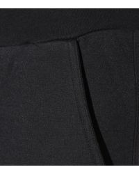 Stella McCartney Blue Cropped Cotton-blend Trousers