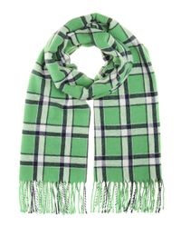 Marc By Marc Jacobs | Green Toto Plaid Scarf | Lyst