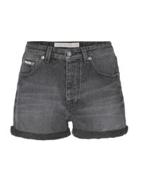 Calvin Klein Jeans | Gray Mytheresa. Com Exclusive High-waisted Shorts | Lyst