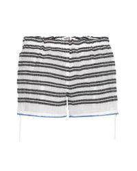 lemlem | Multicolor Selina Striped Cotton Shorts | Lyst