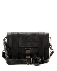 Proenza Schouler   Black Ps1 Mini Crossbody Leather Shoulder Bag   Lyst