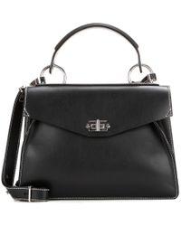 Proenza Schouler   Black Medium Hava Leather Cross-body Bag   Lyst
