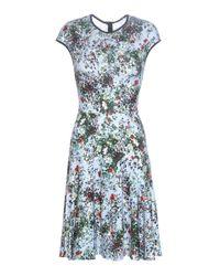 Erdem   Blue Daina Printed Stretch-jersey Dress   Lyst