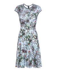 Erdem | Blue Daina Printed Stretch-jersey Dress | Lyst
