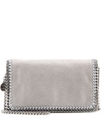 Stella McCartney | Natural Falabella Shaggy Deer Shoulder Bag | Lyst