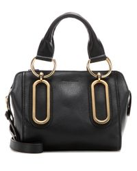 See By Chloé | Black Paige Small Leather Shoulder Bag | Lyst