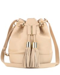 See By Chloé | Natural Vicki Small Leather Bucket Bag | Lyst