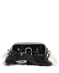 Marc Jacobs | Black Snapshot Small Camera Velvet Crossbody Bag | Lyst