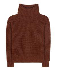 Loro Piana | Brown Davenport Cashmere Turtleneck Sweater | Lyst