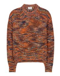 Acne | Orange Zora Sweater | Lyst