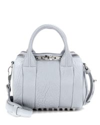 Alexander Wang - Blue Mini Rockie Leather Tote - Lyst