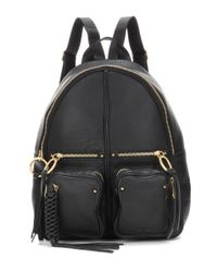 See By Chloé | Black Leather Backpack | Lyst