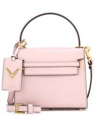 Valentino | Pink Garavani My Rockstud Mini Leather Shoulder Bag | Lyst