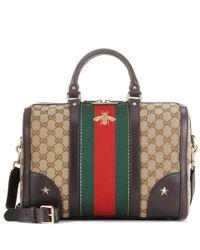 Gucci | Multicolor Vintage Web Medium Coated Canvas Shoulder Bag | Lyst