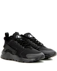 Nike   Black Air Huarache Run Ultra Sneakers for Men   Lyst