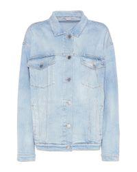 Stella McCartney   Blue Denim Jacket   Lyst