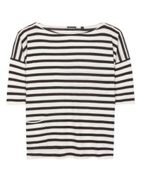 ATM - Multicolor Striped Cashmere T-shirt - Lyst