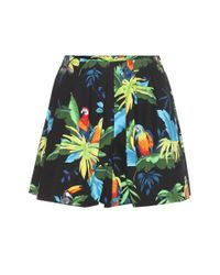 Marc Jacobs | Multicolor Printed Stretch-cotton Shorts | Lyst