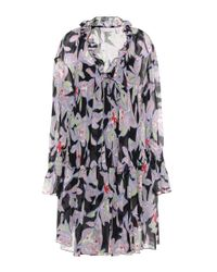 See By Chloé | Multicolor Silk Floral Dress | Lyst