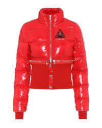 Givenchy | Red Down Coat | Lyst