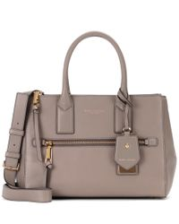 Marc Jacobs - Gray Recruit East-west Leather Tote - Lyst