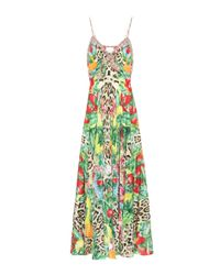 Camilla - Multicolor Printed Silk Dress - Lyst