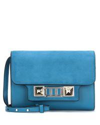 Proenza Schouler - Blue Ps11 Mini Classic Leather Shoulder Bag - Lyst