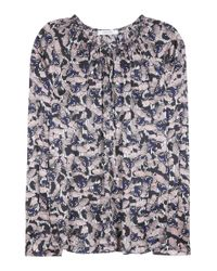 Dorothee Schumacher - Blue Soulful Thrill Printed Blouse - Lyst
