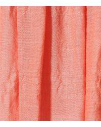Lisa Marie Fernandez - Pink Nicole Cotton-blend Skirt - Lyst