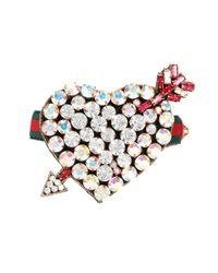 Gucci - Multicolor Crystal-embellished Bracelet - Lyst