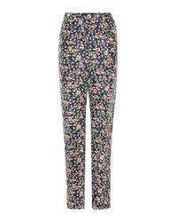 Isabel Marant - Multicolor Roya Silk Trousers - Lyst