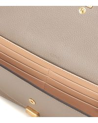 Chloé - Natural Leather Wallet - Lyst