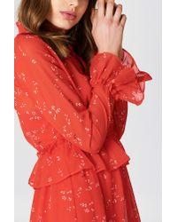 Minimum - Red Amabel Dress - Lyst