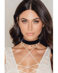 Vanessa Mooney - Metallic The Sofia Choker - Lyst