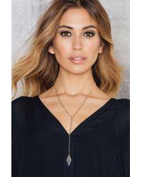 Vanessa Mooney   Metallic The America Silver Necklace   Lyst