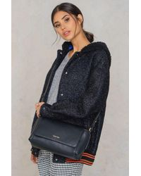Calvin Klein | Black Chrissy Crossbody Bag | Lyst