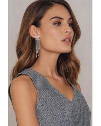 NA-KD - Metallic Star Tassel Earring - Lyst