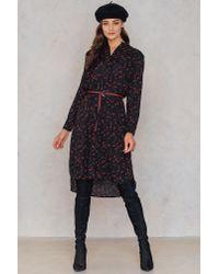 Saint Tropez - Black Floral Print Dress - Lyst
