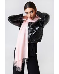 NA-KD - Woven Scarf Light Pink - Lyst
