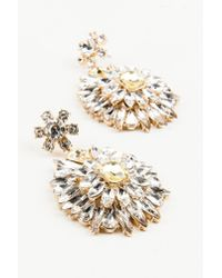 NA-KD - Metallic Hanging Sparkle Earrings - Lyst