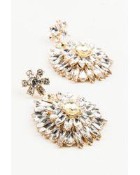 NA-KD - Metallic Hanging Sparkle Earrings - Lyst